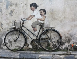 Little Children on a Bicycle<br /><p class=